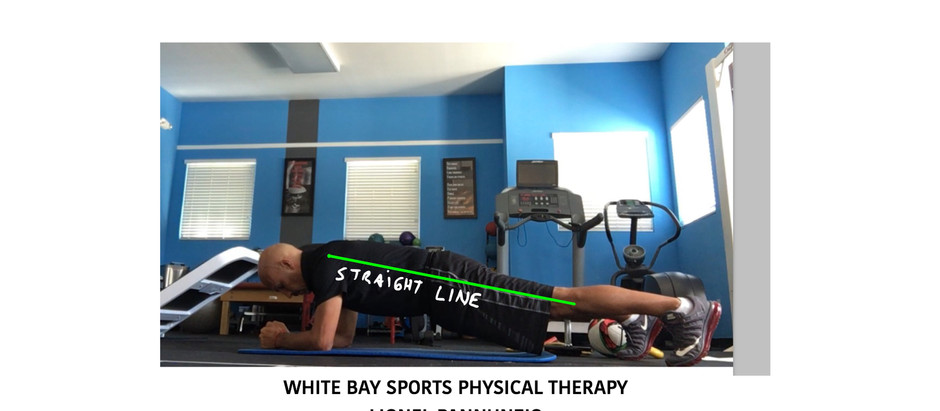 Soccer Players do this simple exercise to stay away from Low Back Pain   Weston   Florida