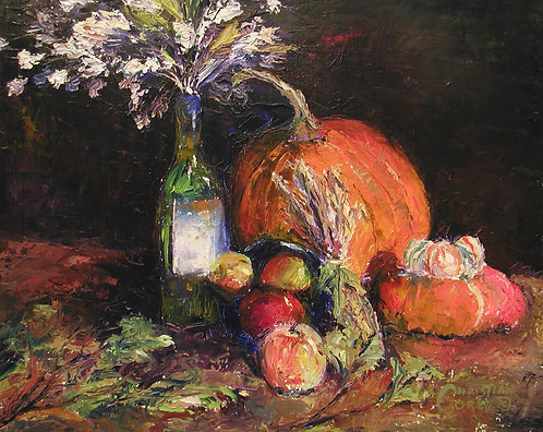 """""""Fall Harvest"""" 16""""x20"""""""