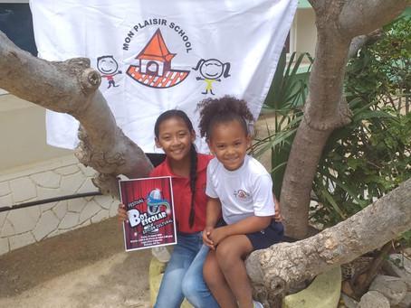 Help Vira en Eva de Bos escolar 2020 winnen!
