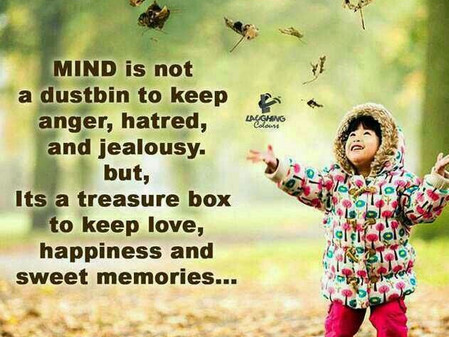 Mind is not a trash box (Thought for the day)