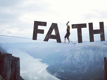 FAITH TO THE END (Thought For The Day)