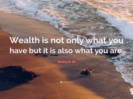No one who loves money can be judged innocent (Thought for the day)