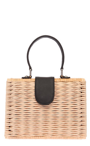 Wicker Box Siyah