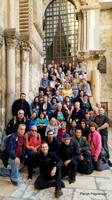 Pilgrimage to Holy Land 2017