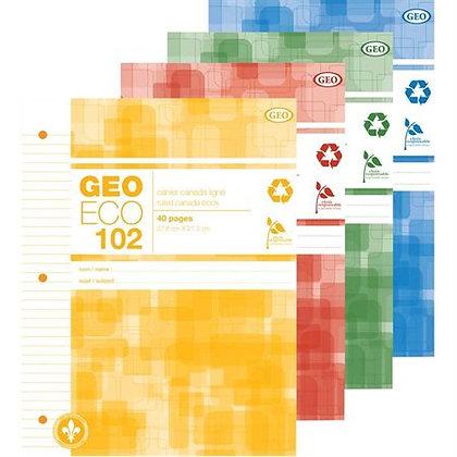 Cahier ligné Geo Eco (1)