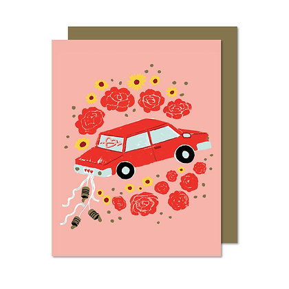 Carte Just married Paperole