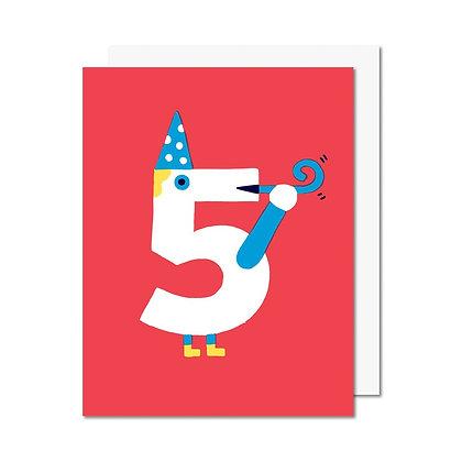 Carte 5 ans Paperole