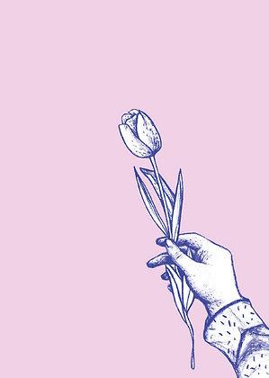 Carte Offrir une fleur