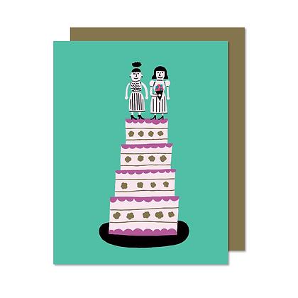 Carte Mariage femmes Paperole