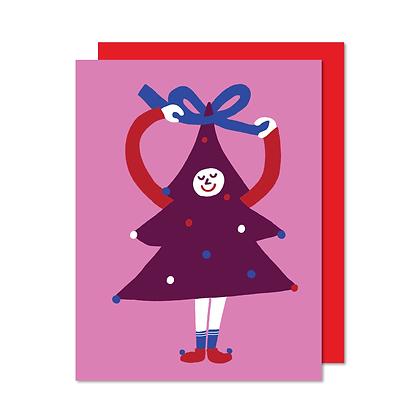Carte Sapin coquet Paperole