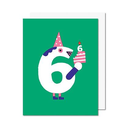 Carte 6 ans Paperole