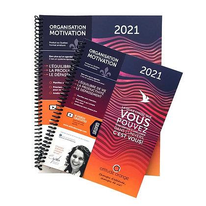 Agenda Attitude orange 2021