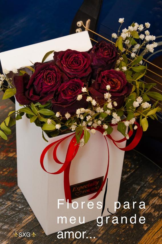 Flores, rosas
