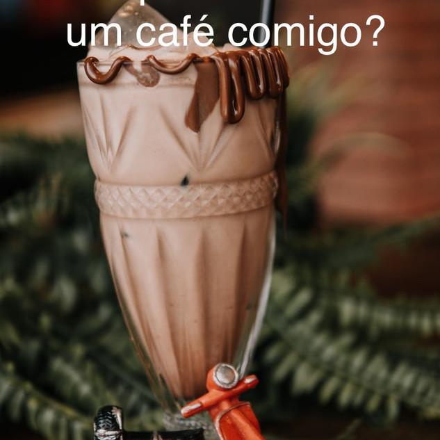 convite, passeio, café, coffe