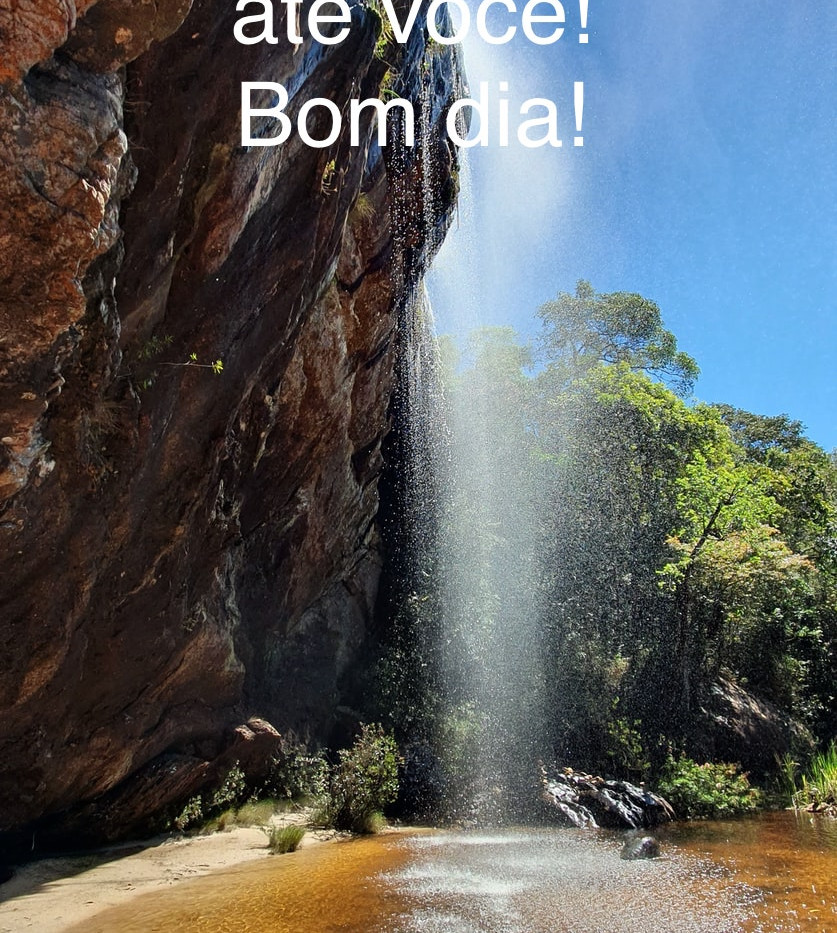 sorte, natureza, cachoeira