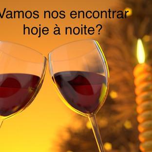 convite, encontro, vinho