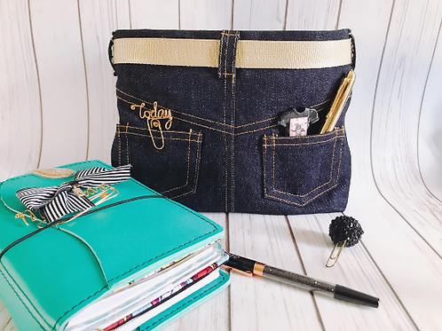 Small Posh Planner Pouch