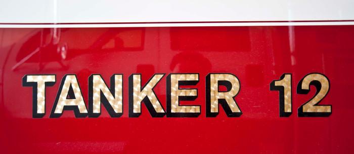 Tanker 12 Lettering