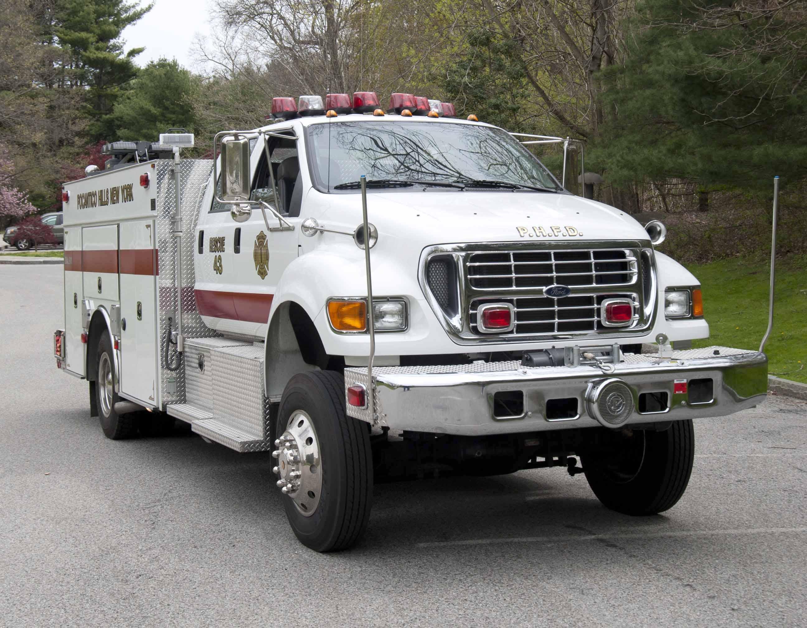 Rescue 43 - Webpage