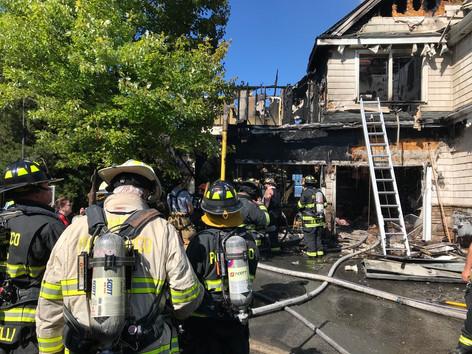Croton 3rd Alarm Fire