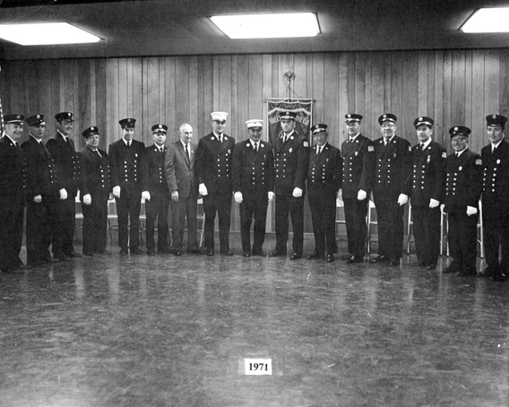 Uniformed Member Photograph, 1971