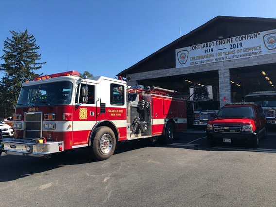 PHFD Standby at Montrose FD During Croton 3rd Alarm
