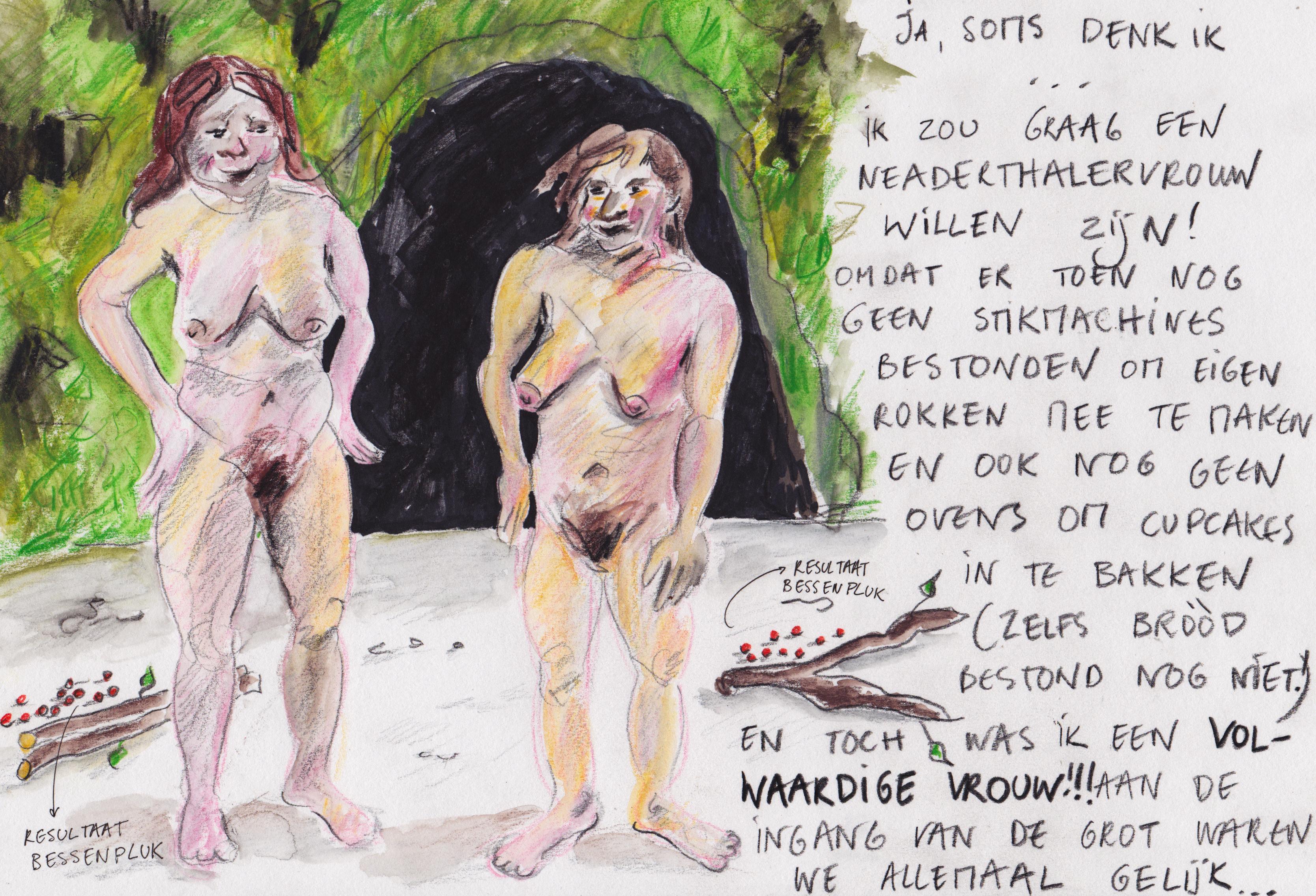 'Neanderthaler feminism' by Barbara