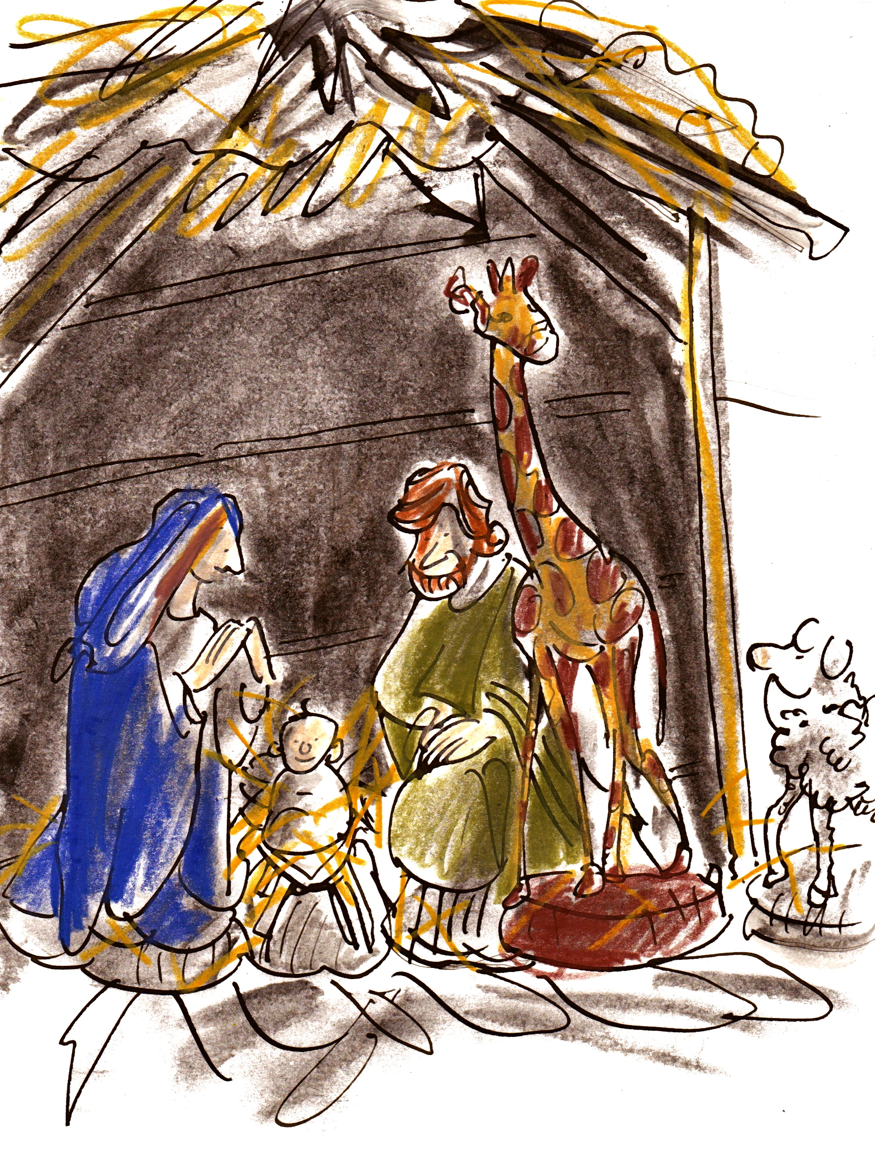 'Nativity stable' by Barbara
