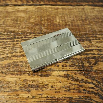 Chrome Card Case