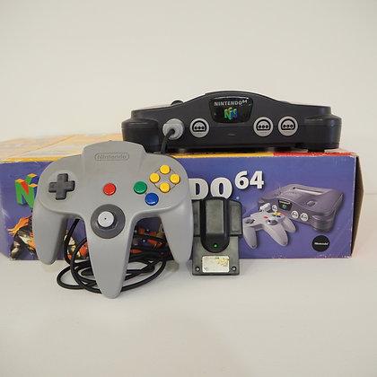 Nintendo 64 Retro Vintage 90s Gaming Console in Original Box