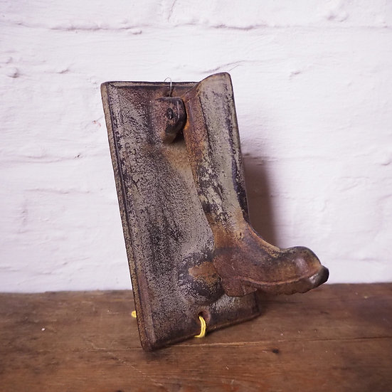 Cast Iron Boot Door Knocker
