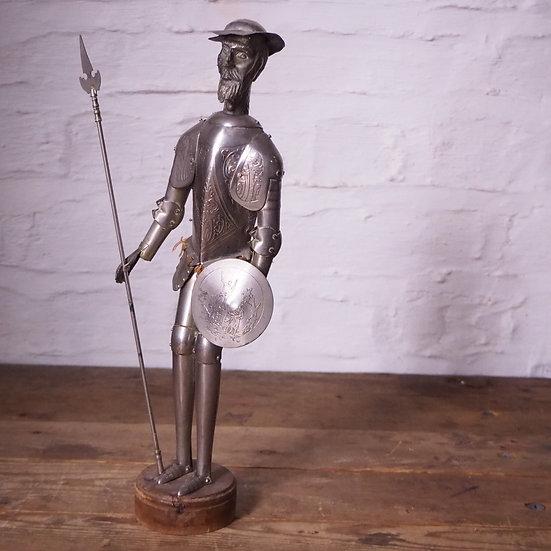Don Quixote - The Man of La Mancha, Metal Figurine.