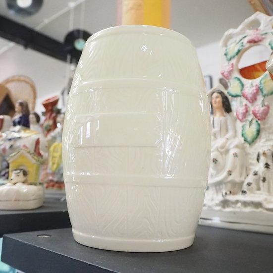 Sylvac Cream Ceramic Biscuit Barrel