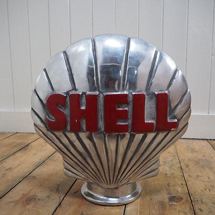 Shell Oil Replica Gasoline Pump Topper Globe