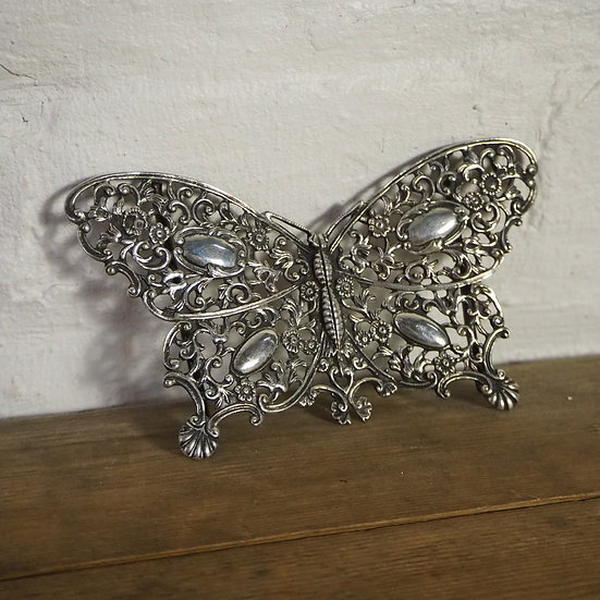 Victorian Sterling Silver Butterfly Buckle