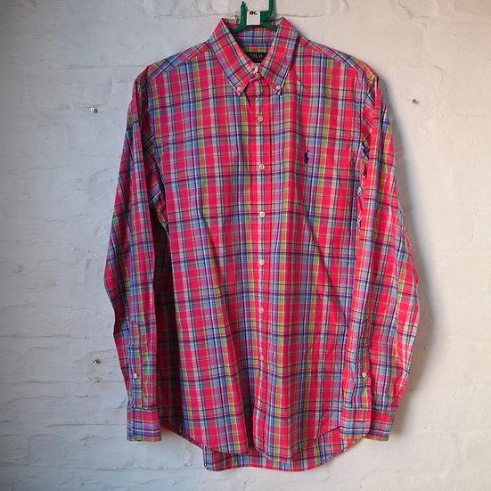 Ralph Lauren Checked Long Sleeve Shirt, Size M