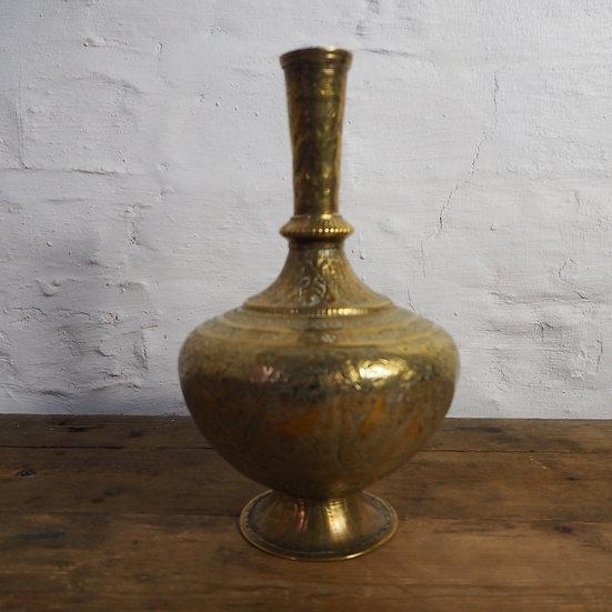 Beautiful Indian Brass Vase