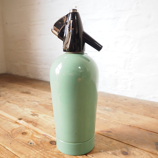 1950s Mint Blue/Green Soda Syphon