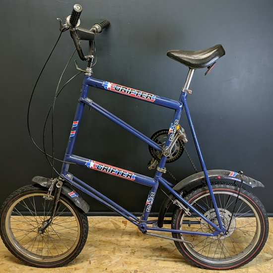 Unique Rare Tall Raleigh Double Grifter Bike