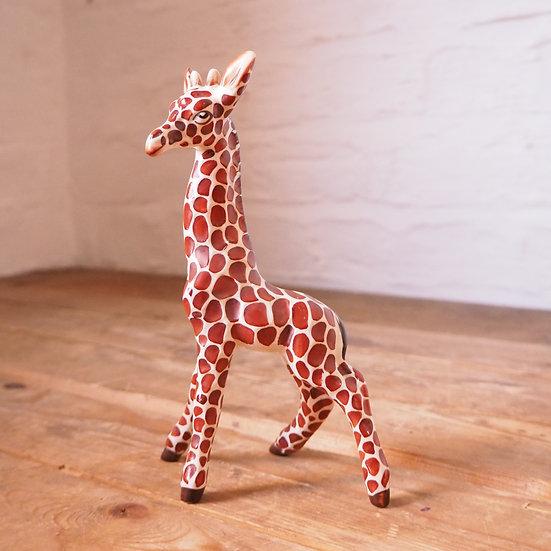 Mid Century Ceramic Giraffe Figurine