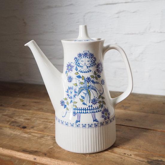 Norwegian Art Pottery Figgjo Turi Design Lotte Tea Pot