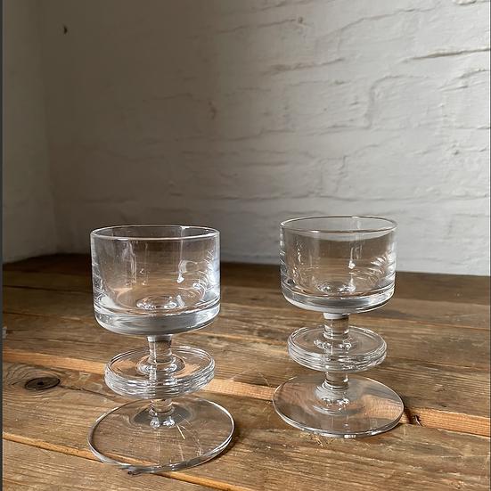 Set of 2 Wedgwood Sherringham Tea Light Candle Holders