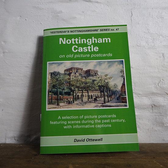 Nottingham Castle on Old Picture Postcards Booklet