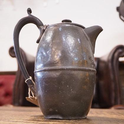 Arts & Crafts Beaten Pewter Coffee Jug