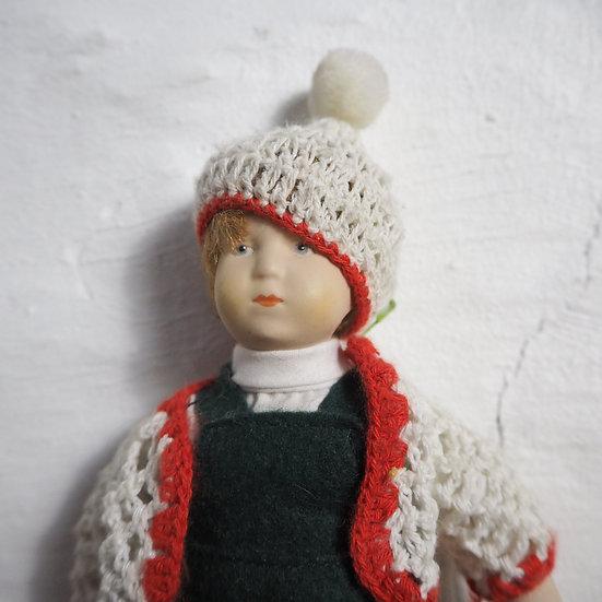 1980's Ceramic Boy Doll