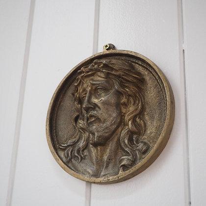 Circular Jesus Christ Wall Hanging