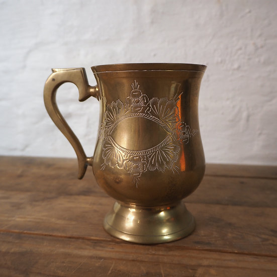 Ladies Brass Tankard