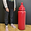 Thumbnail: Large Vintage Marketing Collectible Novelty Plastic Red Baby Bottle Model 3ft