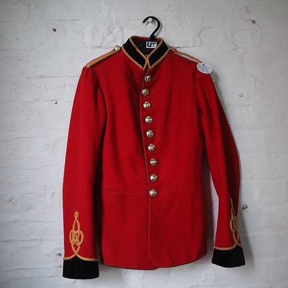 Red Royal Engineers Military Dress Jacket