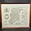 Thumbnail: Hibernia Regnum Ireland 1662 reprinted By John Bartholomew & Son & Framed